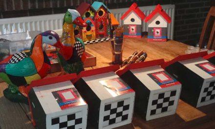 Crazy Birdhouse