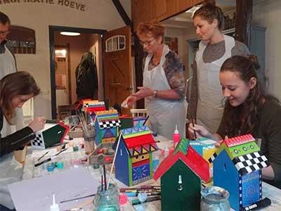 Workshop Crazy birdhouse